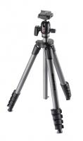 Manfrotto MKCOMPACTADVBH Compact Advanced штатив с шаровой головкой для фотокамеры (черный)