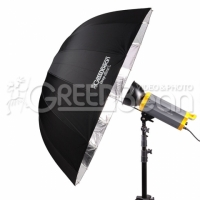 GreenBean GB Deep silver L (23279) зонт-отражатель 130 см