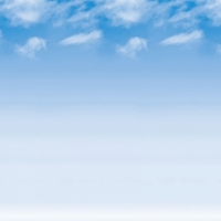 Ella Bella FADELESS WISPY CLOUDS (56935) фон бумажный перистые облака 120х300 см