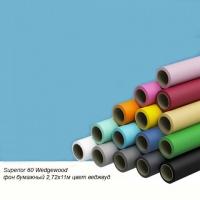 Superior 60 Wedgewood фон бумажный 2,72x11м цвет веджвуд