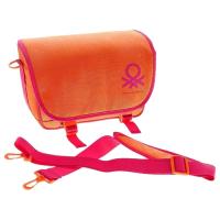 Benetton massenger S сумка для фототехники оранжевая малая