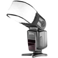 Fotokvant NVF-6898 универсальный нейлоновый диффузор для вспышек Canon/Nikon/Sony/Pentax/Olympus