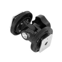 Fotokvant NVF-7987 поворотный кронштейн для установки накамерного света на горячий башмак камеры