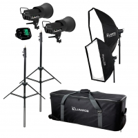 Lumifor LCR-400-2SO KIT CRETO 800 PORTRAIT KIT комплект студийного света