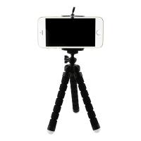 Fotokvant NVF-8985 мини-штатив на гибких ножках для смартфона Samsung/Xiaomi/Apple черный