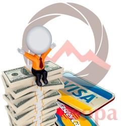 Платежные карточки временно не принимаются