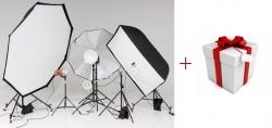 Акция! При покупке любого комплекта света с двумя осветителями – набор карт для установки ББ