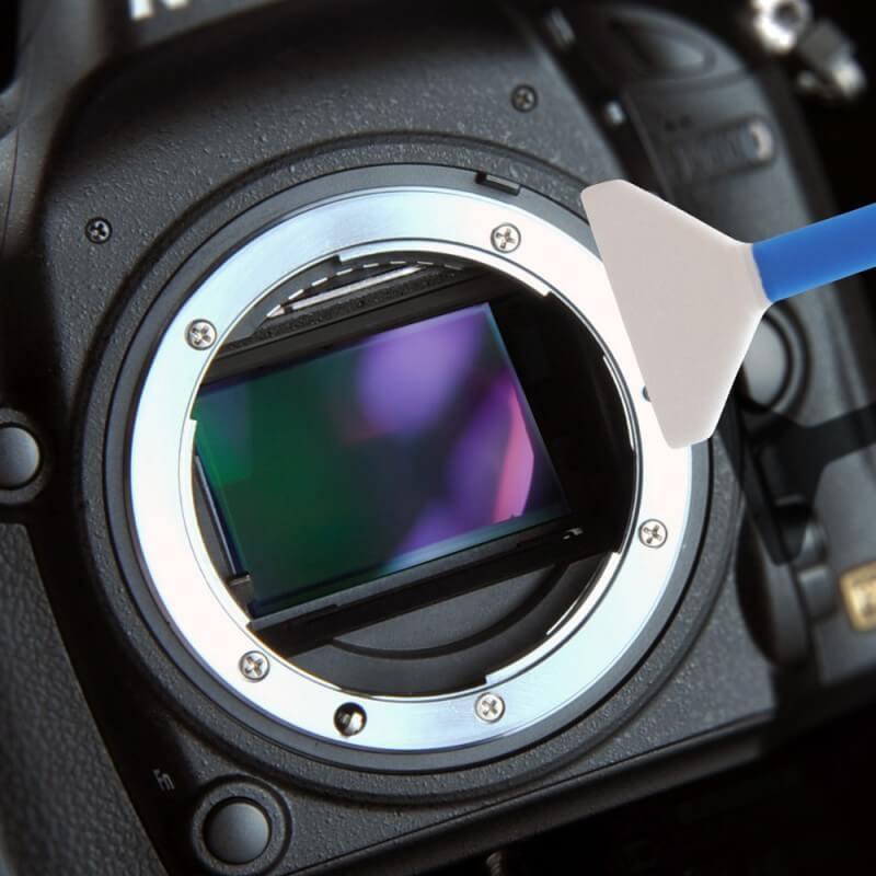 Очистка матрицы фотоаппарата никон острым чутьем