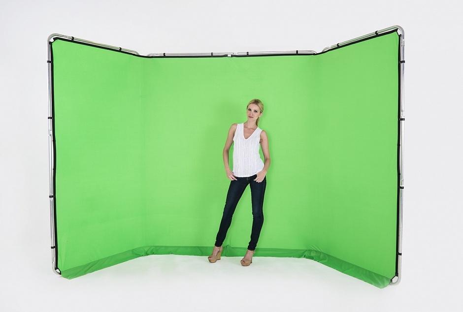 Lastolite LB7622 панорамный фотофон зеленый хромакей на раме