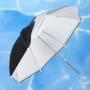 Grifon URN-T 216 TWB зонт белый на отражение и просвет со съемным куполом 216 см