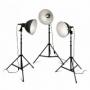 Rekam Light Kit (Q-26K3/220) комплект галогенных осветителей 3х250 Вт