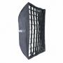 Phottix HD (82494) профессиональный легко складывающийся зонт-софтбокс 60х90 см с решеткой