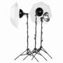 Lumifor MACRO-1500-3UU KIT комплект галогенных осветителей 3х500 Вт