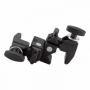 Kupo DOUBLE Convi Clamp-Black W/KCP-7SDL Saddle двойной зажим с кареткой