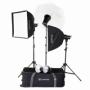 Lumifor AMATO 200 ADVANCE KIT комплект импульсных осветителей 3х200 Дж