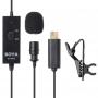 Boya BY-GM10 петличный микрофон для GoPro HERO4/3+/3