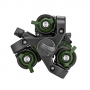 Manfrotto MKBFRA4GR-BH Befree New  штатив и шаровая головка для фотокамеры зеленого цвета