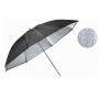 Smartum Grained umbrella 90 зонт серебряный с гранулированной поверхностью 90 см