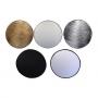 Smartum MX-8201 Multi 5-IN-1 Reflectors 107 см (G/S/W/B/T) светоотражатель 5 в 1 диаметром 107 см