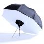 Fotokvant U-91SBO зонт-софтбокс с отражающим куполом 90 см