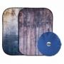 Lastolite LB5715 Derelict Wall/Wooden Fence фотофон складной Urban 150х210 см