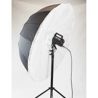 Fotokvant U-165WO зонт-софтбокс с отражающим белым куполом 165 см и съемным диффузором