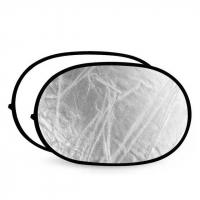 Fotokvant R2-100170SW светоотражатель серебро-белый размером 102х168 см
