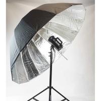 Fotokvant U-165S Para параболический глубокий зонт серебряный 165 см