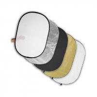 Fotokvant R5-90120 светоотражатель 5 в 1 размером 91х122 см