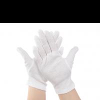 Fotokvant GLOVES-01 перчатки для чистой работы белые размер L