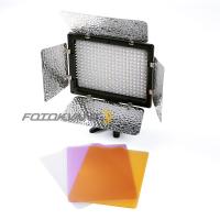 Fotokvant LED-300II PB светодиодная панель со шторками цветовая температура 3200-6000К