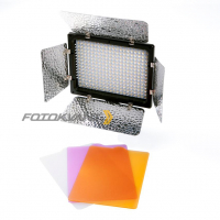 Fotokvant LED-300 PB светодиодная панель с шторками 300 светодиодов