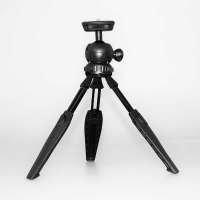 Fotokvant TM-09 Black мини-штатив с шаровой головой с телескопическими ножками