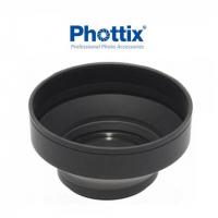 Phottix (52507) трехступенчатая складная резиновая бленда 77 мм