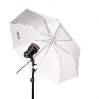 """Phottix (85361) ультракомпактный зонт 91 см (36"""") белый на отражение и просвет"""