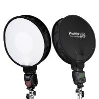 Phottix (37213) Pop diffuser 30 софтбокс круглый для накамерной вспышки