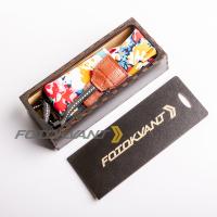 Fotokvant STO-42 ремень для фотоаппарата в подарочной деревянной коробочке
