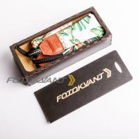 Fotokvant STO-55 ремень для фотоаппарата в подарочной деревянной коробочке