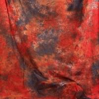 Grifon W-262 фон пятнистый темный красно-оранжевый с серым 2,7х5 м