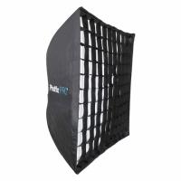 Phottix HD (82496) профессиональный легкоскладываемый зонт-софтбокс с решеткой 90х90 см