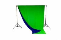 Lastolite LC5787 фотофон тканевый хромакей синий и зеленый 3х3,5 м
