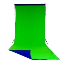 Lastolite LC5887 фотофон тканевый хромакей синий и зеленый 3х7 м