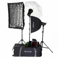 Lumifor AMATO 200 CREATIVE KIT комплект импульсных осветителей 3х200 Дж