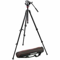 Manfrotto MVH500AH,755XBK штатив с видеоголовкой для видеокамеры
