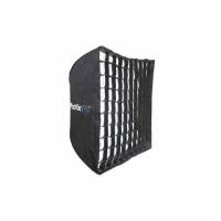 Phottix HD (82492) легкоскладываемый зонт-софтбокс с решеткой 70х70 см