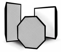 Rekam SBOR 120 жаропрочный октобокс с углублением серебряный 120 см