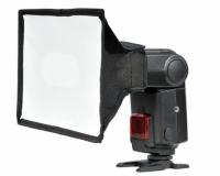 Grifon SB 1520 софтбокс для накамерных фотовспышек (крепление-лента) размер 15x20 см