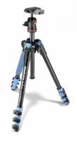 Manfrotto MKBFRA4L-BH Befree штатив и шаровая головка для фотокамеры синего цвета