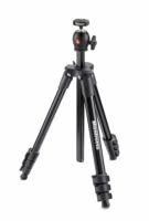 Manfrotto MKCOMPACTLT-BK Compact Light штатив с шаровой головкой для фотокамеры (черный)