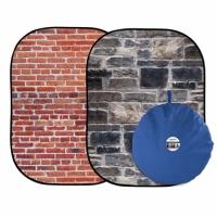 Lastolite LB5711 Red Brick/Grey Stone фотофон складной Urban 150х210 см